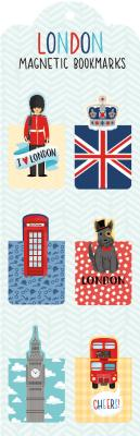 London Magnetic Bookmarks -