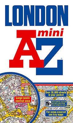 London Mini Street Atlas - Geographers' A-Z Map Company (Illustrator)