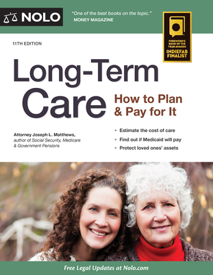 Long-Term Care: How to Plan & Pay for It - Nolo