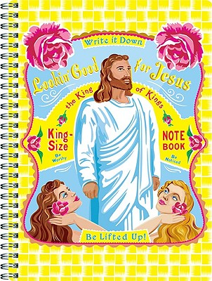 Lookin' Good for Jesus: King-Size Notebook - Johnson, Haley (Illustrator)