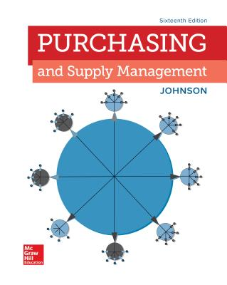 Loose Leaf for Purchasing and Supply Management - Johnson, P Fraser