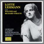 Lotte Lehmann sings Wagner/Richard Strauss