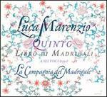Luca Marenzio: Quinto Libro di Madrigali a sei voci (1591)