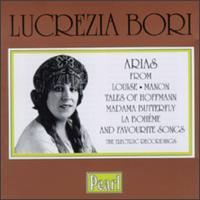 Lucrezia Bori: Arias - George Copeland (piano); Lawrence Tibbett (baritone); Lucrezia Bori (soprano); Tito Schipa (tenor)