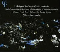 Ludwig van Beethoven: Missa Solemnis - Benjamin Hulett (tenor); Collegium Vocale Orchestra; David Wilson-Johnson (baritone); Gerhild Romberger (mezzo-soprano);...