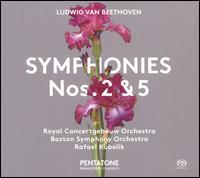 Ludwig van Beethoven: Symphonies Nos. 2 & 5 - Rafael Kubelik (conductor)