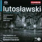 Lutoslawski: Orchestral Works, Vol. 3