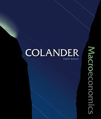 Macroeconomics - Colander, David C, and Colander David