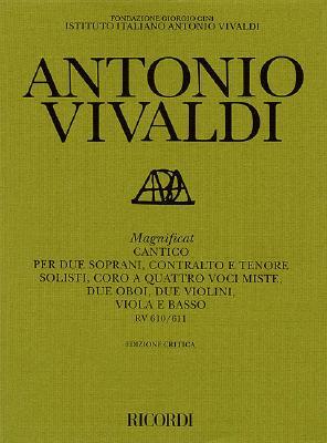 Magnificat Rv610/Rv611: Score - Vivaldi, Antonio (Composer), and Talbot, Michael (Editor)