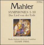 Mahler: Symphonies 1-10; Das Lied von der Erde - Doris Soffel (alto); Faye Robinson (soprano); Fritz Walter-Lindquist (organ); Harald Stamm (bass); Helen Donath (soprano);...