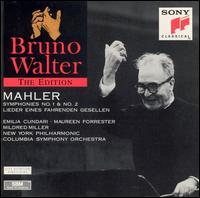 Mahler: Symphonies No. 1 & No. 2; Lieder eines fahrenden Gesellen - Emilia Cundari (soprano); Maureen Forrester (contralto); Mildred Miller (mezzo-soprano); Westminster Choir (choir, chorus);...