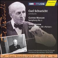 "Mahler: Symphony No. 2; Haydn: Symphony No. 86 ""Pariser"" - Hanni Mack-Cosack (soprano); Hertha Töpper (alto); Stuttgart Bach Choir (choir, chorus);..."