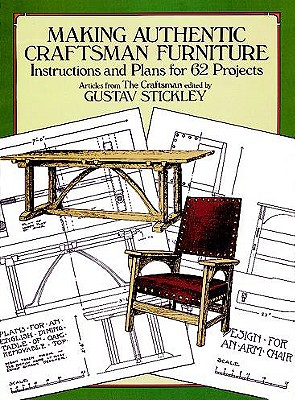 Making authentic craftsman furniture instructions and for Homemade furniture instructions