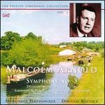 Malcolm Arnold: Symphony No. 5; Divertimento; Solitaire