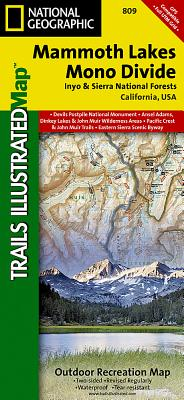 Mammoth Lakes / Mono Divide - National Geographic Maps (Compiled by)
