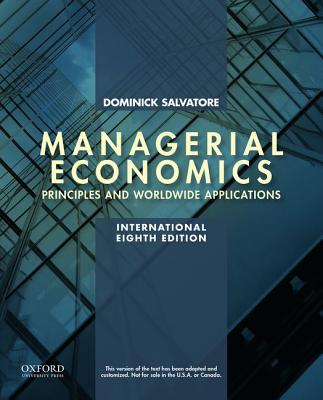 Managerial Economics in a Global Economy - Salvatore, Dominick