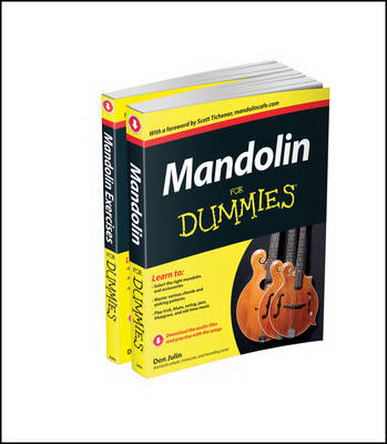 Mandolin For Dummies Collection - Mandolin For Dummies/Mandolin Exercises For Dummies - Julin, Don