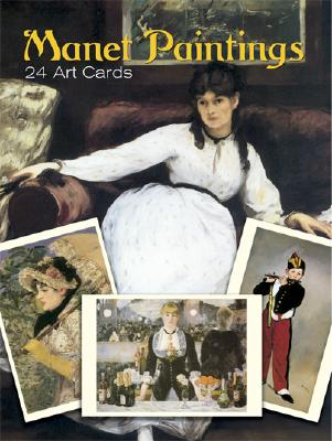 Manet Paintings: 24 Art Cards -