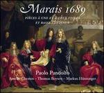 Marais 1689: Pièces à une et à deux violes et basse continue