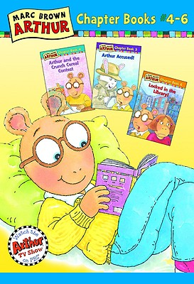 Marc Brown Arthur Chapter Books #4-6 - Brown, Marc Tolon, and Krensky, Stephen, Dr. (Text by)