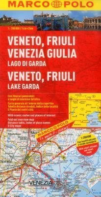 Marco Polo Karte Italien 04. Veneto-Friaul 1: 200 000 -
