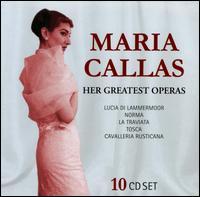 Maria Callas: Her Greatest Operas - Alvaro Cordova (vocals); Angelo Mercuriali (tenor); Anna Maria Canali (mezzo-soprano); Antonio Zerbini (bass);...