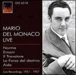 Mario Del Monaco: Live