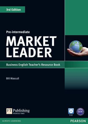 Market Leader 3rd Edition Pre-Intermediate Teacher's Resource Book/Test Master CD-ROM Pack - Mascull, Bill, and Lansford, Lewis