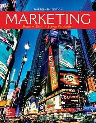 Marketing - Kerin, Roger, and Hartley, Steven