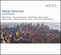 Martin Schlumpf: The Five Points - Galatea Quartett; Harry White Trio; Martin Schlumpf (electronics); Matthias Müller (clarinet); Matthias Müller (clarinet);...