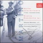 Martinu: Suite Concertante; Violin Concerto No. 1