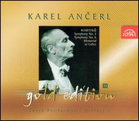 Martinu: Symphonies Nos. 5 & 6; Memorial to Lidice - Czech Philharmonic Orchestra; Karel Ancerl (conductor)