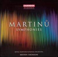 Martinu: Symphonies - Royal Scottish National Orchestra; Bryden Thomson (conductor)