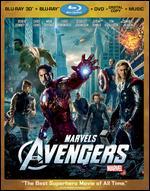 Marvel's The Avengers [4 Discs] [Includes Digital Copy] [3D/2D] [Blu-ray/DVD] - Joss Whedon