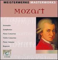 Masterworks: Mozart - Barbara Werner (alto); Brandis Quartet; Derek Han (piano); Gerd Seifert (horn); Giselle Herbert (harp);...