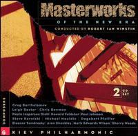 Masterworks of the New Era, Vol. 6 - Oleg Puntus (sax); Kiev Chamber Choir (choir, chorus); Kiev Philharmonic Orchestra; Robert Ian Winstin (conductor)