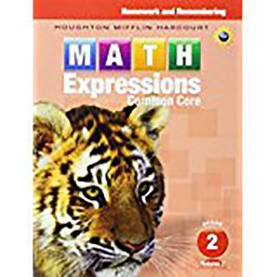 Math Expressions: Homework & Remembering, Volume 2 Grade 2 - Houghton Mifflin Harcourt (Prepared for publication by)