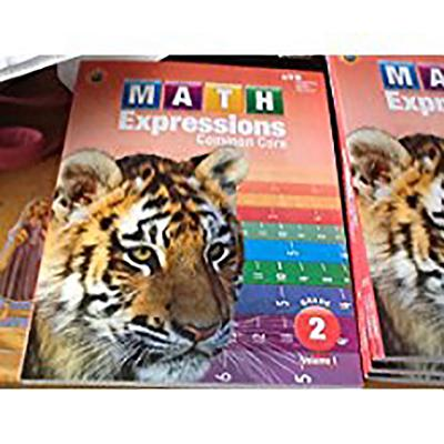 Math Expressions: Student Activity Book, Volume 1 (Softcover) Grade 2 - Houghton Mifflin Harcourt (Prepared for publication by)