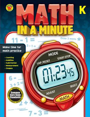 Math in a Minute, Grade K - Brighter Child (Compiled by)
