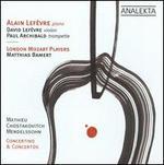 Mathieu, Chostakovitch, Mendelssohn: Concertino & Concertos