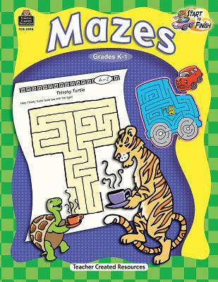 Mazes, Grades K-1 - McMahon, Kelly
