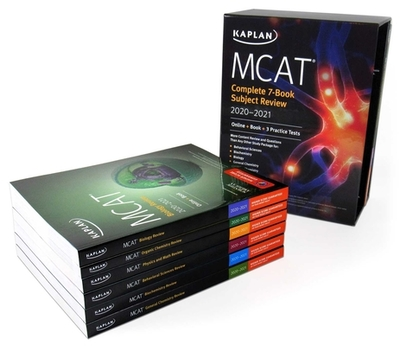 MCAT Complete 7-Book Subject Review 2020-2021: Online + Book + 3 Practice Tests - Kaplan Test Prep