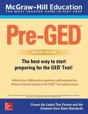 McGraw-Hill Education Pre-Ged, Second Edition - McGraw Hill