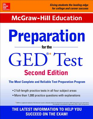 McGraw-Hill Education Preparation for the GED Test - McGraw-Hill Education Editors