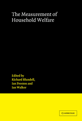 Measurement of Household Welfa - Blundell, R W (Editor)