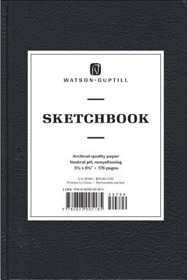Medium Sketchbook (Kivar, Black) - Watson-Guptill