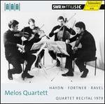 Melos Quartett Recital 1979