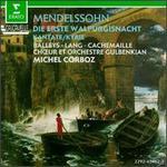 Mendelssohn: Die Erste Walpurgisnacht; O Haupt voll Blut und Wunder; Kyrie - Brigitte Balleys (contralto); Ensemble Vocal et Instrumental de Lausanne; Frieder Lang (tenor); Gilles Cachemaille (vocals);...