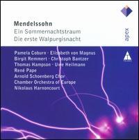 Mendelssohn: Ein Sommernachtstraum; Die erste Walpurgisnacht - Birgit Remmert (mezzo-soprano); Birgit Remmert (alto); Christoph Bantzer; Christoph Bantzer (vocals);...