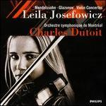 Mendelssohn & Glazunov: Violin Concertos